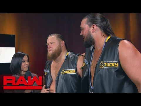 Heavy Machinery are ready to prove themselves: Raw, March 4, 2019