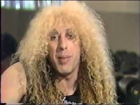 Dee Snider interviewing the Scorpions on Heavy Metal Mania(1985)