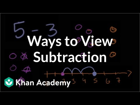 Subtraction 2  Addition and subtraction  Arithmetic  Khan Academy