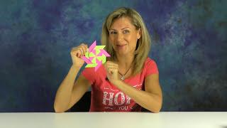 Оригами из бумаги | Звезда ниндзя | Оригами-трансформер(Оригами из бумаги Звезда Ниндзя - интересная, двигающаяся поделка! Сделать очень легко! Летит - далеко!) Action..., 2016-09-14T14:31:32.000Z)