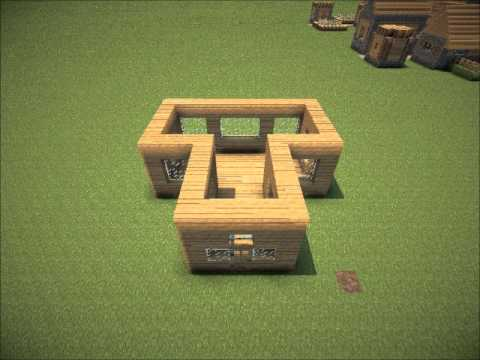 sch nes haus bauen minecraft youtube. Black Bedroom Furniture Sets. Home Design Ideas