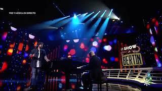 Entre sobras y sobras me faltas en directo - Antonio Orozco - al Piano Alejandro Cruz Benavides