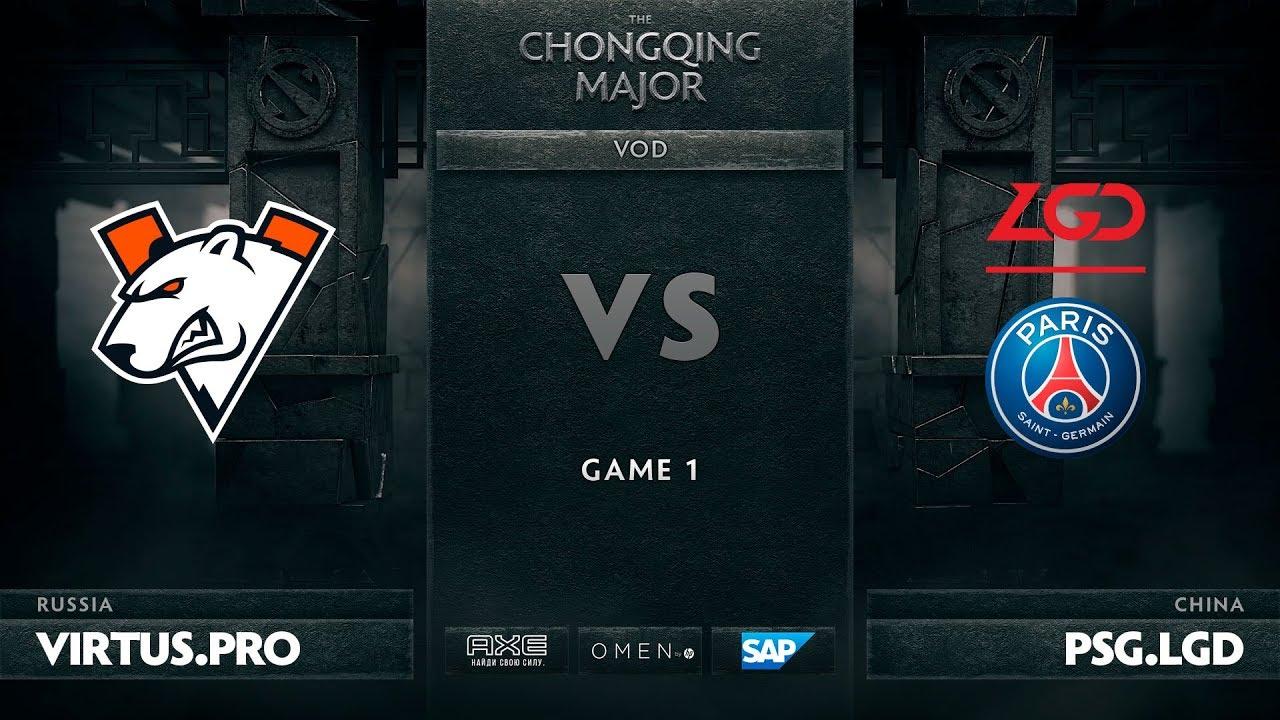 [RU] Virtus.pro vs PSG.LGD, Game 1, The Chongqing Major UB Round 2