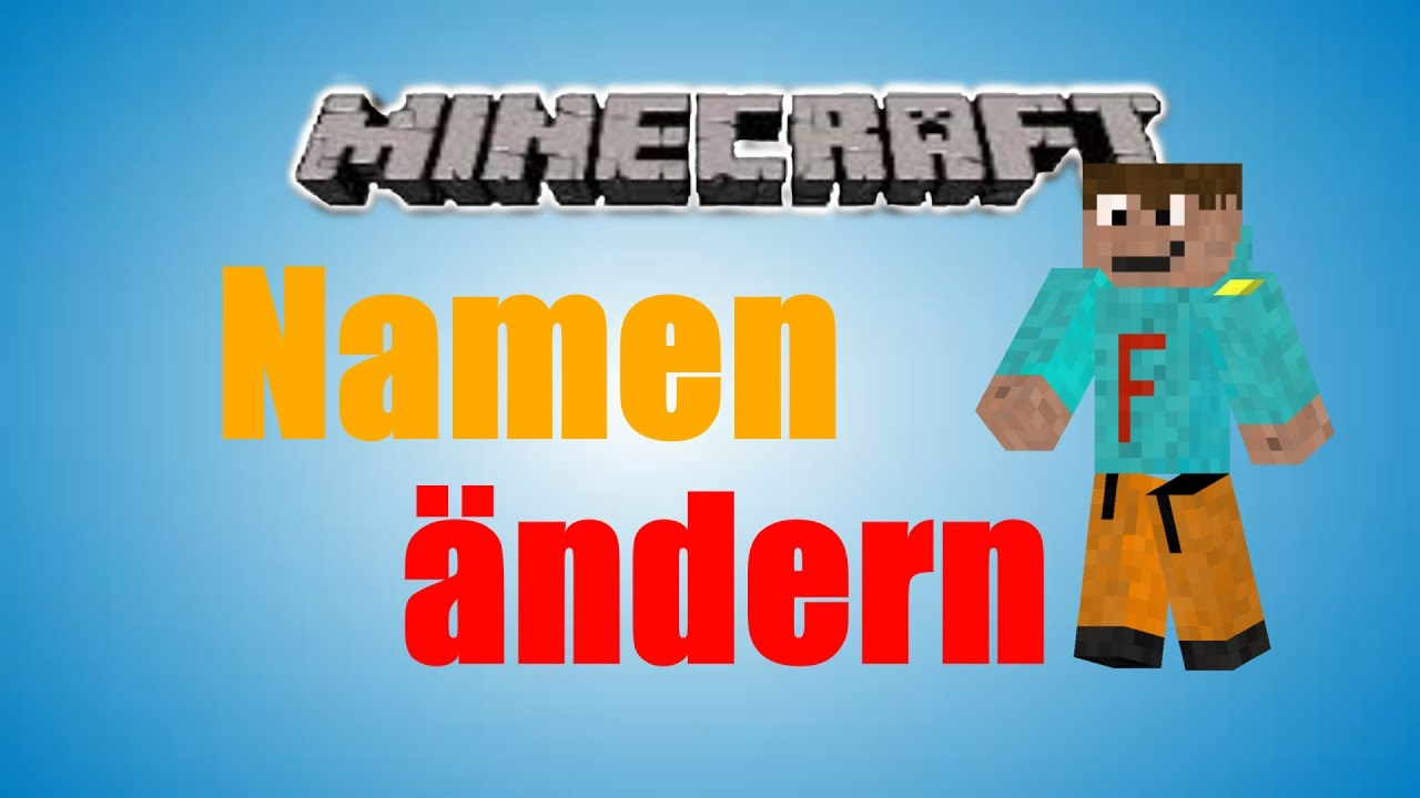 Minecraft Namen ändern DeutschHD Tutorial Nightmare - Minecraft name andern deutsch