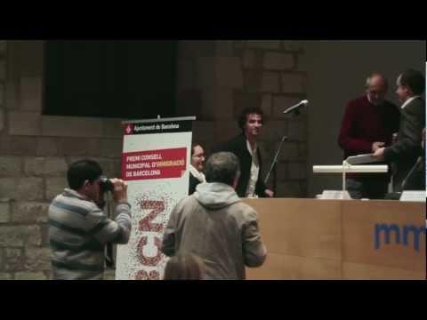 video_de_lacte_de_lliurament_del_4rt_premi_consell_municipal_dimmigracio_2012