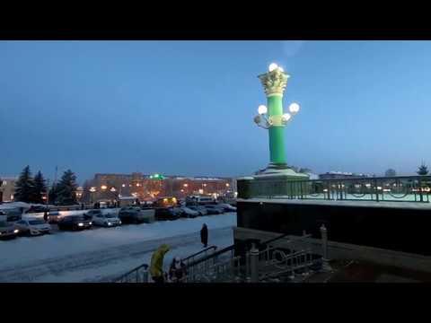 Железнодорожный вокзал города Омска