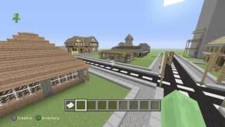 Presentation de ma ville | Minecraft Ps4
