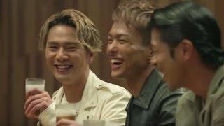 EXILE ビール cm ザ・モルツ『カウンターの男たち』45秒篇 EXILE TRIBE ...
