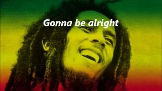 bob marley three little birds lyrics