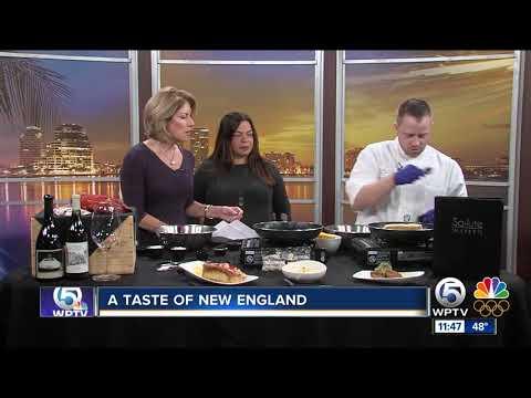 Taste of New England from Salute restaurant