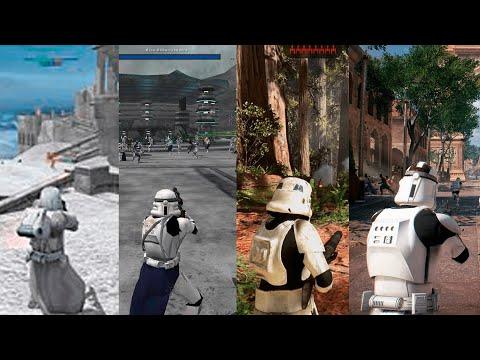 Эволюция серии игр Star Wars |1982 - 2020 | Более 100 игр