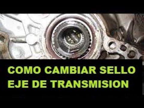 Como Cambiar e Instalar Sello de Eje Transmisión - CV Axle ...