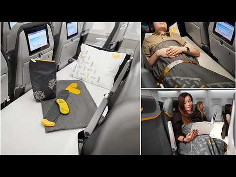 Thomas Cook launches 'lie-flat seats' in ECONOMY