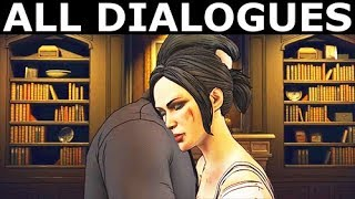 Batman & Catwoman - All Dialogues At Wayne Manor & GCPD Rooftop - BATMAN The Enemy Within Episode 3