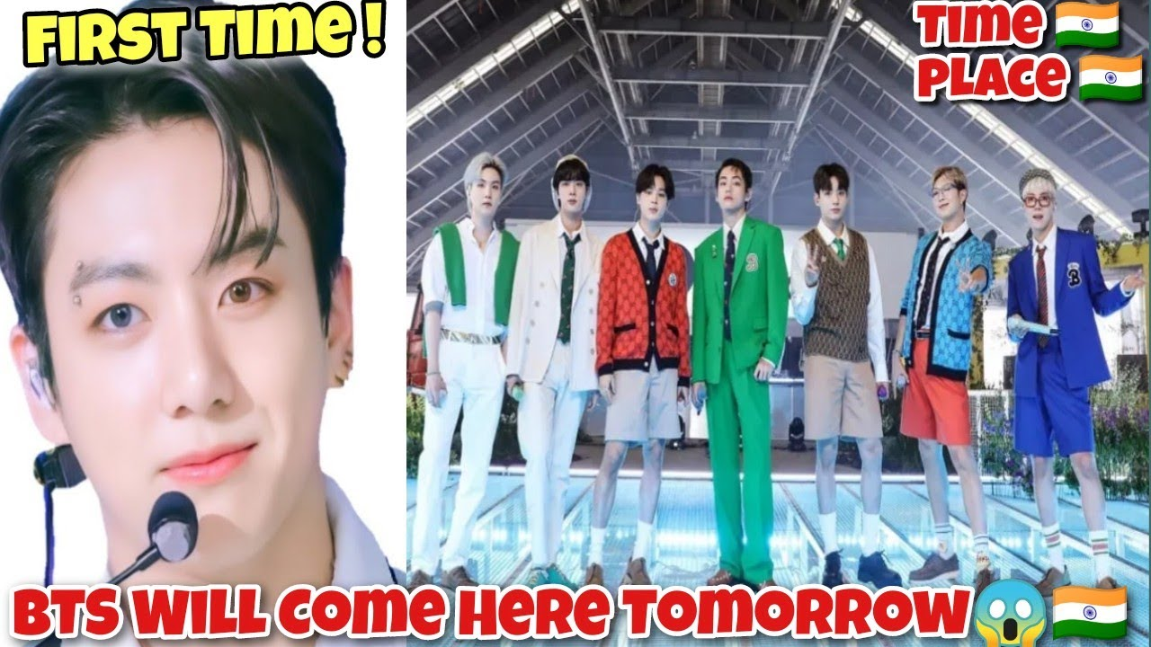 BTS First Time Coming Here Tomorrow 😱🇮🇳 | BTS Debut | Cinewood Hub