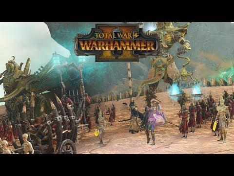 King of the Tomb Invitational Round 1 Game 2 - Arkhan & Kemmler BFFs // Total War: Warhammer II |