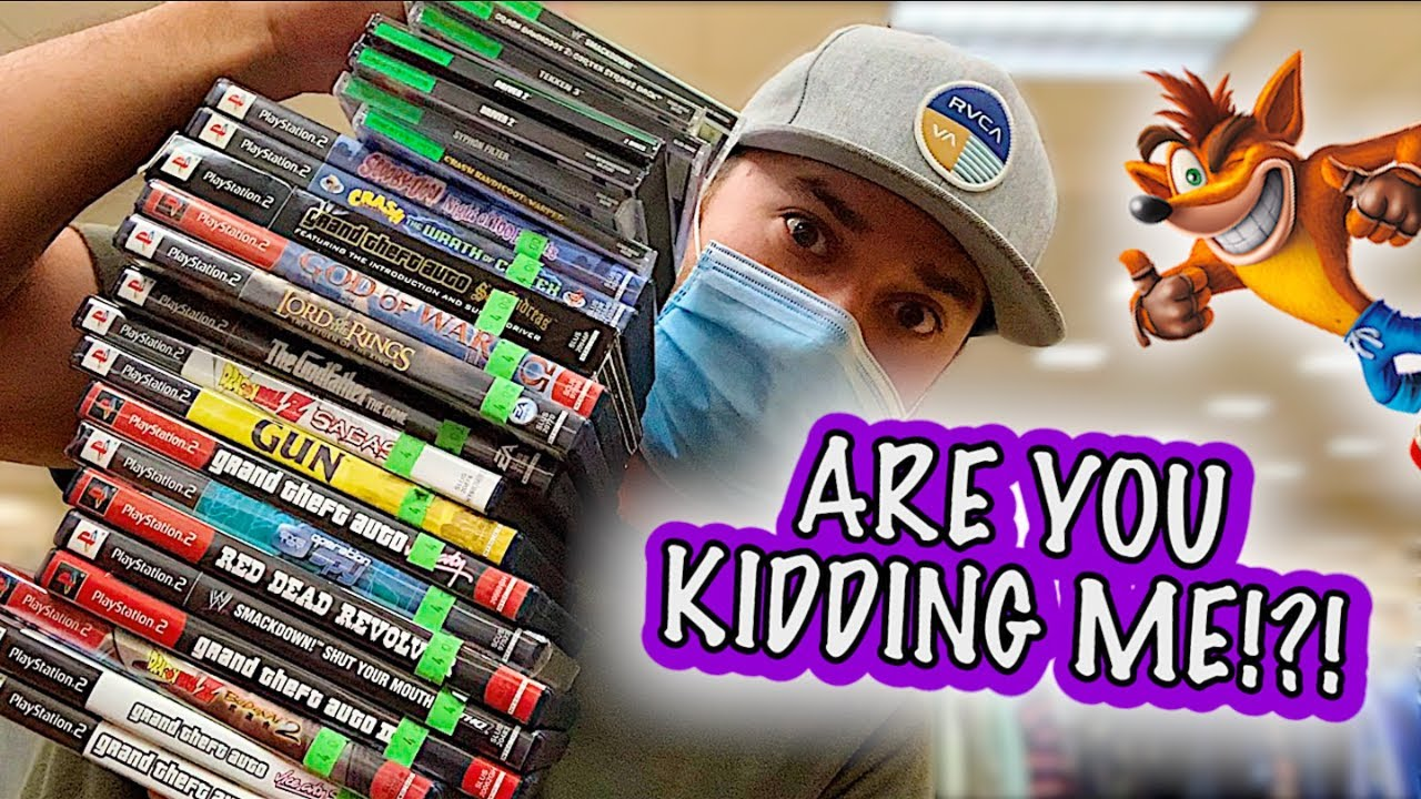 MY BIGGEST SCORE @ GOODWILL YET! (Live Video Game Hunting) || $10 Collection (Ep.25)