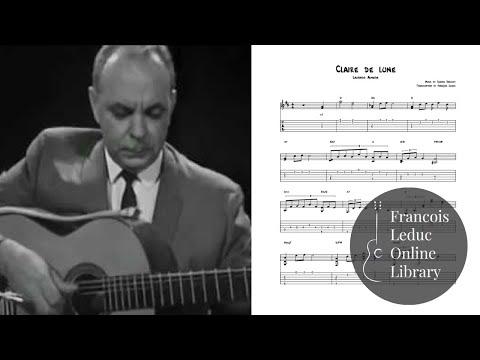 Claire De Lune Samba - Laurindo Almeida (Transcription)