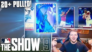 *22 DIAMONDS PULLED* MLB THE SHOW 19 BEST PACK OPENING YOU'LL EVER SEE