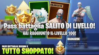 HO SHOPPATO TUTTO IL NUOVO PASS BATTAGLIA! Fortnite Battle Royale ITA!
