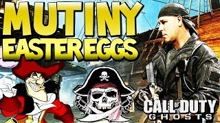 """MUTINY EASTER EGGS """"Cod Ghosts"""" Rorke Torture Chamber, Captain Hook (INVASION DLC) 