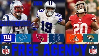 2020 NFL Free Agency Predictions (NFL Free Agency Predictions & Rumors 2020)