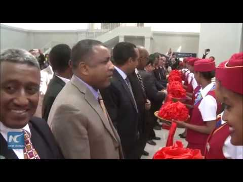 Chinese built modern Ethio Djibouti railway commences  commercial operations thumbnail