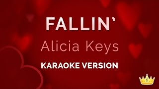 Alicia Keys - Fallin' (Karaoke Version)