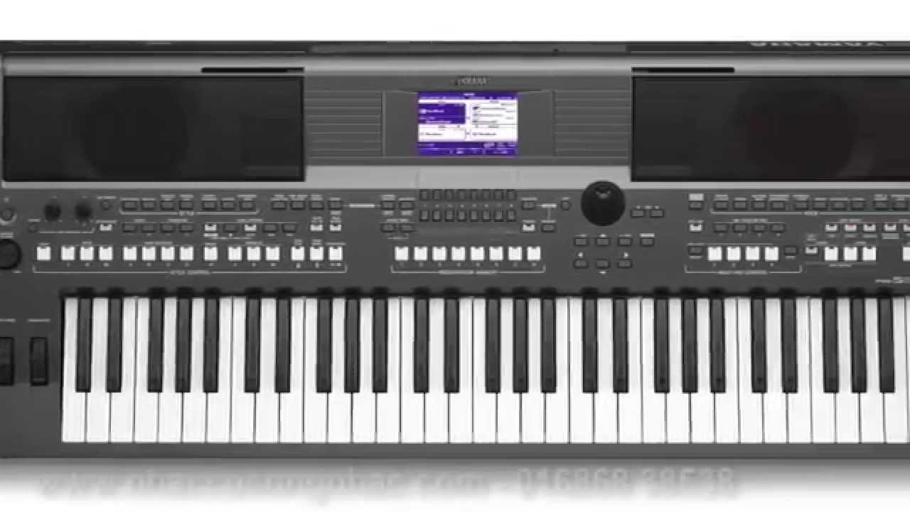 Demo Sounds Yamaha PSR-S670