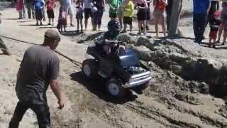 MTD Gas Power Wheel Mud Running 2015