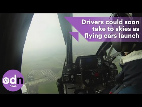 Drivers could soon take to skies as flying cars launch