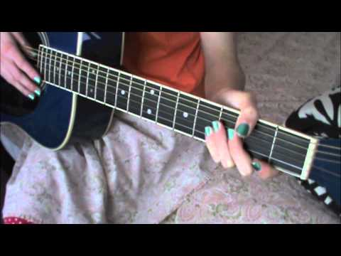 Easy Guitar  Tutorial For RUN By LEONA LEWIS/SNOW PATROL!!!!