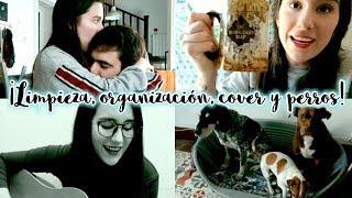 Limpieza y organización, perros, cover y más! · WEEKLY VLOG | Christine Hug