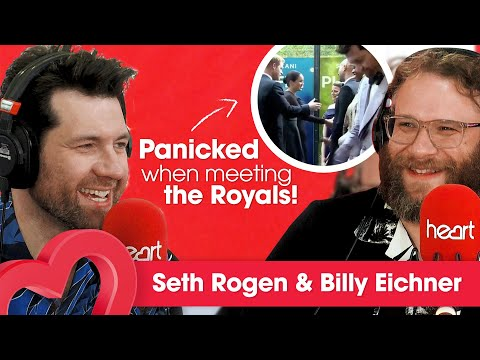Seth Rogen & Billy Eichner PANICKED When Meeting The Royals! 👑 | Interview | Heart