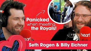 Seth Rogen & Billy Eichner PANICKED When Meeting The Royals! 👑   Interview   Heart