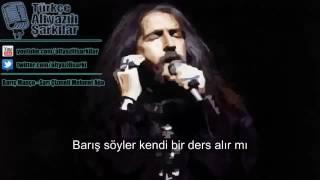 Barış Manço Sarı Çizmeli Mehmet Ağa  Sözleriyle(lyrics) KARAOKE
