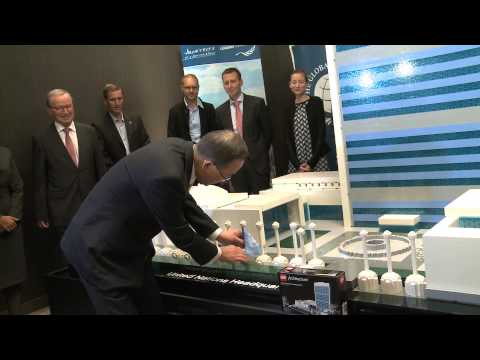 New lego model of United Nations Headquarters unveiled.