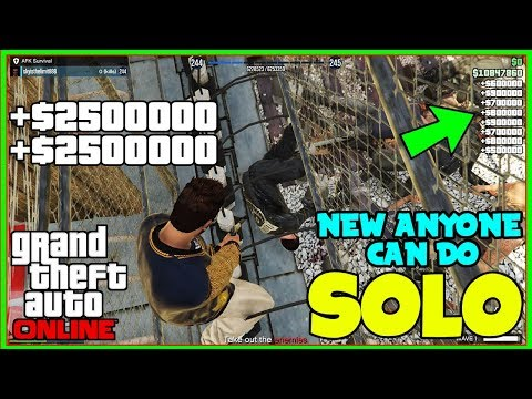 (NO REQUIREMENTS) NEW GTA 5 SOLO Money Glitch For Everyone! (Unlimited Money) EASY MONEY!