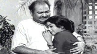 Lakshmi Nivasam Scenes - Sharada And Subbayya Stayed In A Labour Place - SVR, Anjali Devi