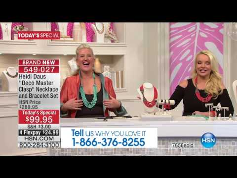 HSN | Heidi Daus Jewelry Designs 05.16.2017 - 06 PM