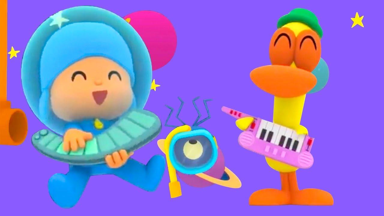 Pocoyo en Español 2021 | la Orquesta Espacial | Caricaturas para Niños