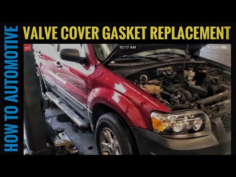 How to Replace the Valve Cover Gaskets on a 2007-2012 Ford Escape with 3.0L V6