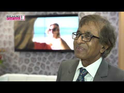 Anil K Gayan, minister of tourism, Mauritius