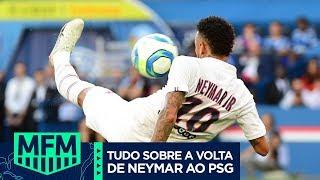 Neymar DESABAFA! Vem entender como foi a volta dele ao PSG, com direito a GOLAÇO