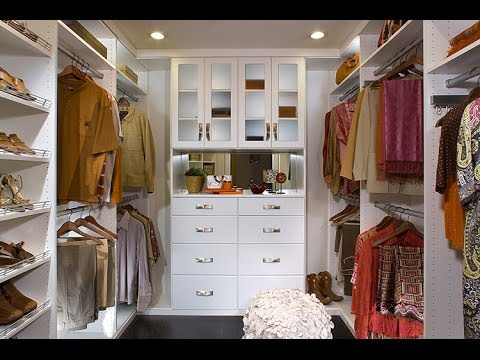 Great Custom Closet Design Ideas and Pictures - YouTube