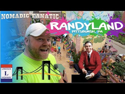 Steepest Street, Mr. Rogers, & RANDYLAND in Pittsburgh