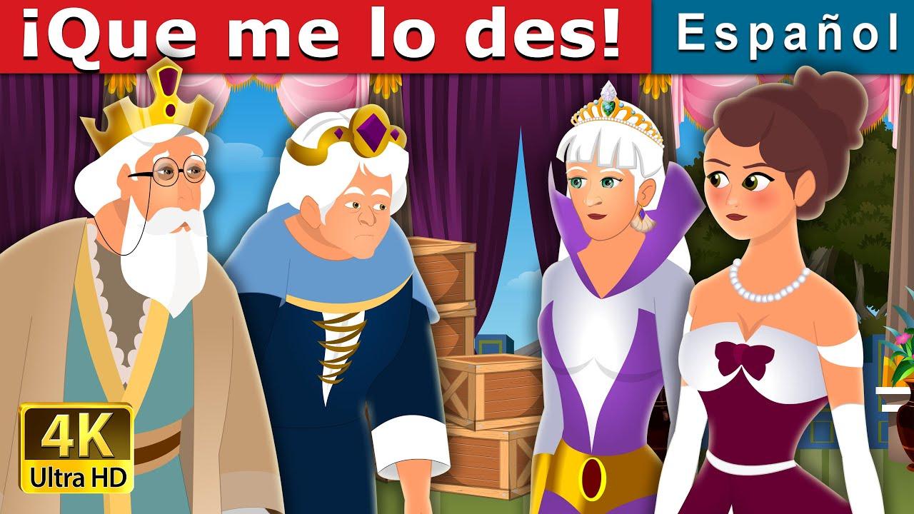 ¡Que me lo des! | What You Shall Give Me Story | Cuentos De Hadas Españoles