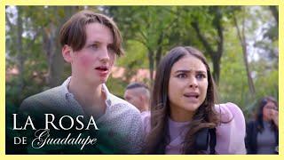 La Rosa de Guadalupe: Marco se llena de celos al ver a Rocío con otro hombre  Más allá de la mentira