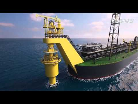 Deep sea development oilfield
