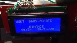 BTC Ticker